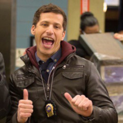 portrait de Jake Peralta, de la série Brooklyn 99